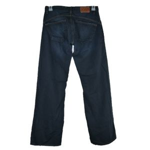 Adriano Goldschmied Loose Fit Dark Wash Mens Jeans